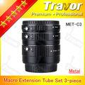 lente de la cámara cámara digital de repuesto parte tubo de extensión macro set lente de zoom para el teléfono móvil