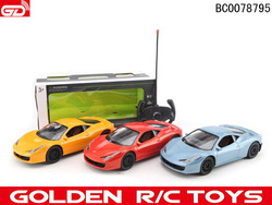2014 plastic cartoon 4-ch traxxas rc car 1:16 with beautiful color accept trial order