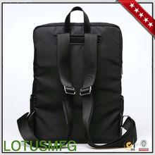 Dongguan Gearmax Factory High Quality Black Nylon Cheap Cute Girls School Laptop Backpack for Apple Macbook Pro 15.4''