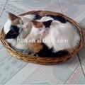 lifelike artesanal linda peles brinquedo cão respiração cães e gatos