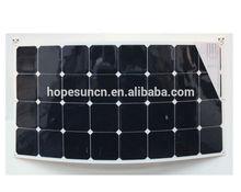 2014 New beautiful design 100w flexible solar panel price