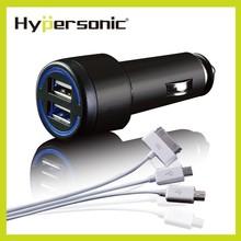 HP2691 Hypersonic car ac dc 12v usb cigarette lighter socket charger adapter