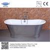 luxurious cast iron stainless steel skirted bathtub