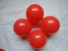 High Quality red plastic decorative balls