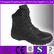 black cotton lace men's leather work shoes