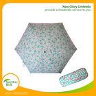 "20"" *6k hot sale fancy mini 5 fold umbrella in case"