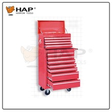 Hydraulic Sping Metal Tool Cabinet Tool Box with Wheels