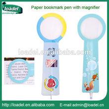 Fancy bookmark pen,custom bookmark pen
