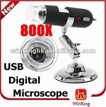 Mini Microscope caméra pilote logiciel, 800X USB Microscope numérique Portable