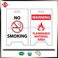 2015 correx plástico las señales de seguridad de impresión, seguridad seguridad contra incendios entrar