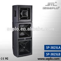 professioanl loudspeaker SP-3825LB/hdmi to rca audio custom av solutions