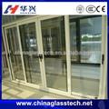 CE ve ISO& ccc darbe dayanımı yalıtımlı alüminyum/pvc cam dış kapı