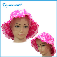 2015 Hot Selling floral sunny girl beach cap