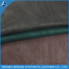 el mejor calzado de cuero sintético de la pu superior la chispa de tela