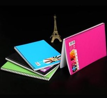 Paper Cover Spiral Notebook for School & Office