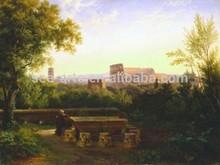 Hot Sale Classical beautiful Rural Landscape Painting