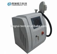Portable (IPL+RF) laser hair removal ,skin care,sapphire,elight machine