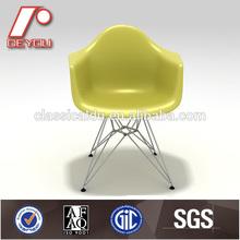 Eames abs plastic chair , Eames Molded Plastic Eiffel Armchair ,Dining chair (H-0922)