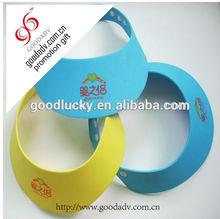 Made in china hot selling colorful eva sun visor cap