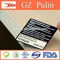 private label de extensões da pestana oval de impressão da etiqueta