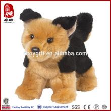 SEDEX,ICTI,COCO COLA supplier customized dog toys wholesale toy stuffed german shepherd sale