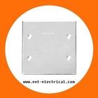 Weatherproof electric meter box cover