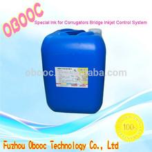 2014 China Alibaba High Quality Dedicated Ink For Corrugators Bridge Validation System