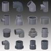 grey sch 80 machine pvc pipe fitting