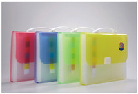 hot sale best price 13 pockets A4 pp plastic expanding file RYX032