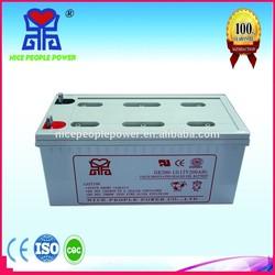 good quality price deep cycle agm vrla battery 12v 200ah deep cycle battery