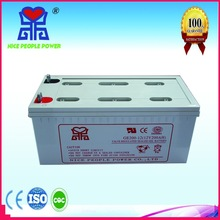 good quality price deep cycle agm vrla battery 12v 200ah deep cycle battery