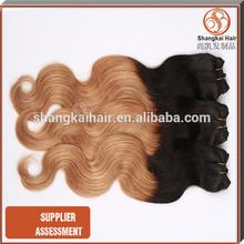 Peruvian Human two tone braiding hair