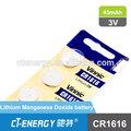 vinnic cr1616 3v seca da bateria botão celular