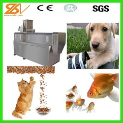 Factory Direct Supplier Pet Food Extruder Machine for dog cat fish