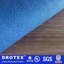 100% cotton flame retardant burlap fabric/fire retardant fabric in different colors