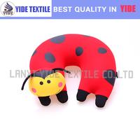 2014 newest cartoon polystyrene beads filling printing pillow/ car pillow animal design pillow