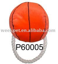 Basketball dog toy