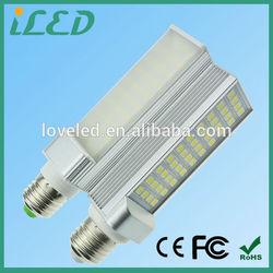 Taiwan Epistar Chip 5050SMD LED G23 G24 LED 4000K 13W PL LED Bulb Cool White Isolated LED Driver