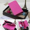2014 famous purse brands ladies fancy purse leather wallet online shopping #2844