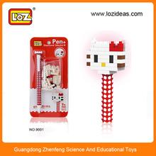 Promotion item plastic ball point pen for children