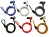 corlor coated desktop/laptop computer lock cable Notebook Lock and Security Cable
