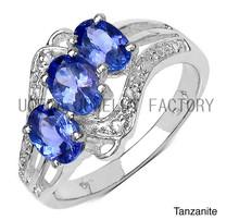 New Fashion Female Style Fake Imitation Gemstone Rings