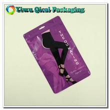 plastic bag insert for garment packaging