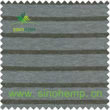 High quality organic cotton fabric cotton blue and white striped