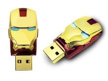 marvel iron man usb 2.0 flash drive 16gb accept paypal