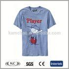 best selling fashion 100 cotton carton print 1 dollar t-shirts