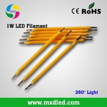 1W LED Filament Chips 110-120LM/W 17mA For Led Bulbs