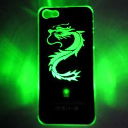 Changed Sense Flash Light LED Hard Case For Apple iPhone 5/5S