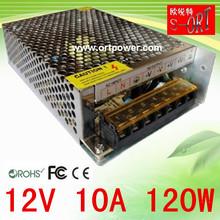 12v 120w power supply 12v 10a for Surveillance camera