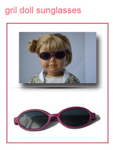 Doll sunglasses for sale, pretty girl doll sunglasses, new modern doll glasses